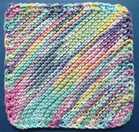 free knit dishcloth patterns one ounce dishcloth free patterns
