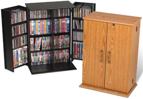 Vhs Storage Cabinet Cd Dvd Storage Cabinet W Lock 376 Cd 192 Dvd New Ebay