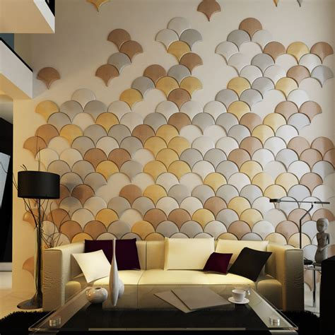 Metal Tiles For Kitchen Backsplash faux leather wall panel