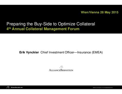 supplement 28 isda preparing the buy side to optimize collateral 4th annual