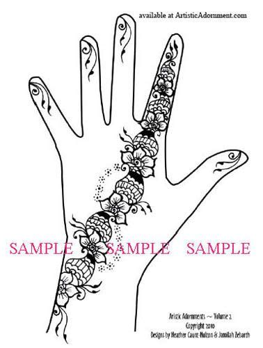 what stores sell henna tattoo kits 9 best digital henna patterns images on henna