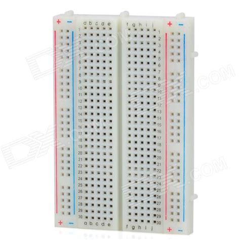 breadboard circuit board mini prototype printed circuit board breadboard free shipping dealextreme