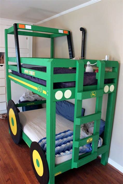 tractor bunk bed tractor bunk bed treehouse bed pinterest