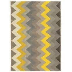 8x10 chevron rug linon trio collection chevron grey yellow area rug 8 x 10 free shipping today overstock