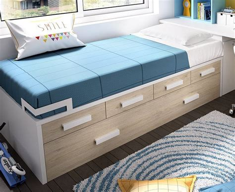 camas compactas  cama nido cama nido   cajones  esquinera