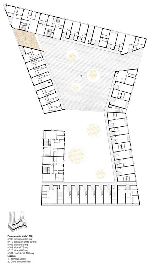 social housing plans vivazz mieres social housing zigzag arquitectura floor plans spain and google