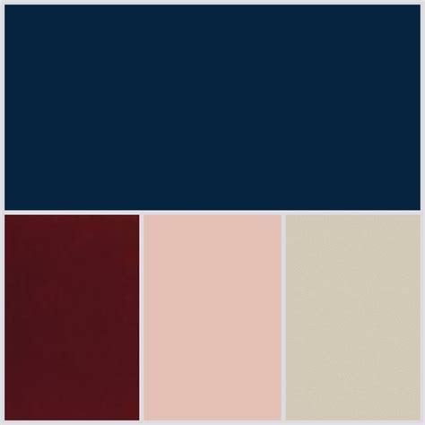 what goes with pink navy wedding palette chagne burgundy blush pinteres