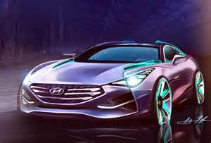 hyundai i80 the gt sports coupe rendered by a designer