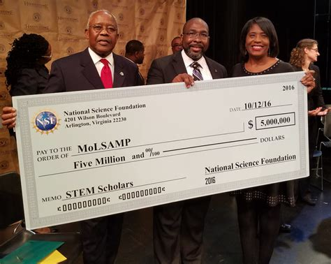 Mba Grants For Minorities by Nsf Gives 5 Million Boost To Stem Higher Education In