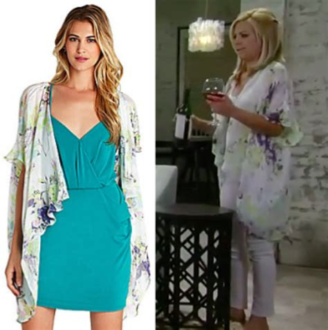 gh maxies hair feb 13th 2015 general hospital fashion get maxie jones s floral kimona