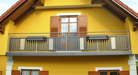 nirosta balkongeländer balkon gel 228 nder in edelstahl alu
