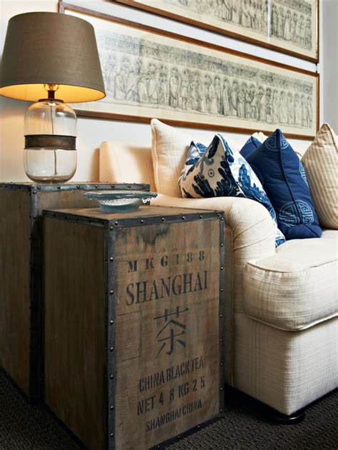 antique side tables for living room vintage style trunks for living room side tables