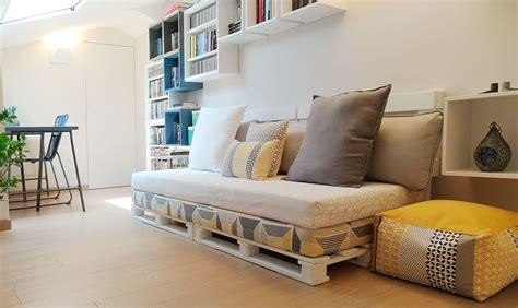 fai da te divano come realizzare un divano fai da te con i pallet casafacile