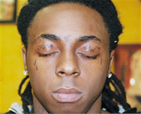 why does lil wayne have teardrop tattoos lil wayne s tattoos meaning and pictures
