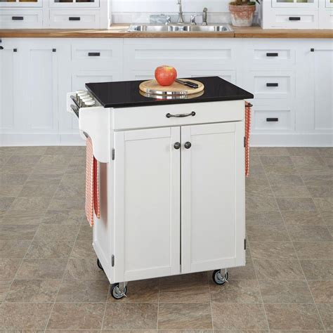 home styles create a cart red kitchen cart with stainless home styles create a cart white kitchen cart with black