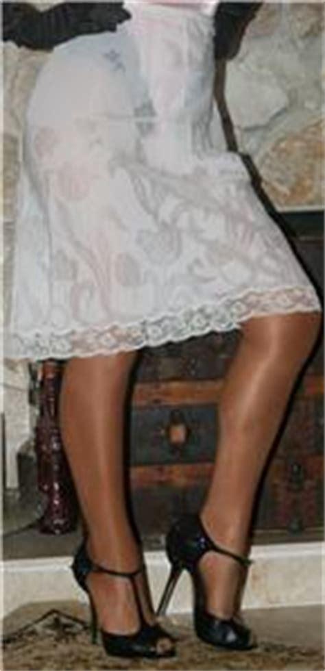 petticoat sissy ebay small sheer vintage lingerie sissy 1 2 slip petticoat