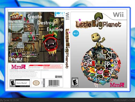 little big planet wii box art cover by tycke