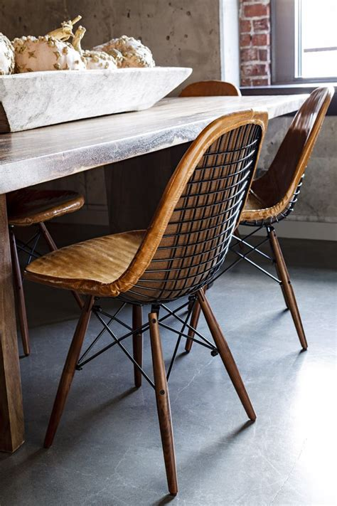 Dining Table Leather Chairs 1000 Ideas About Leather Dining Chairs On