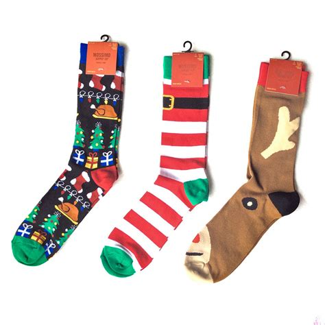 christmas sock ugly christmas socks santa reindeer or turkey for