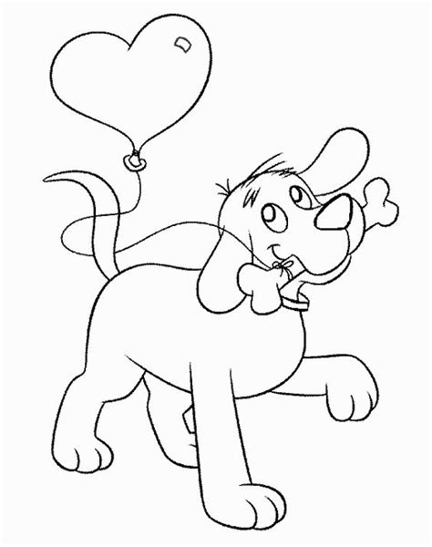valentines day coloring pages with dogs owl coloring pages free printables clifford coloring
