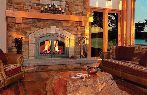 Wood Burning Fireplace Napoleon High Country Nz6000 Wood Burning Fireplace