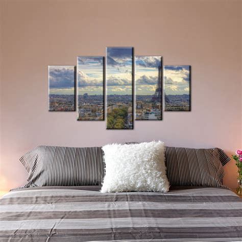 bedroom prints 5 piece canvas wall art decorative cheap prints picture