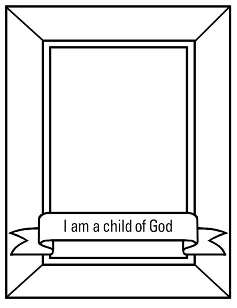 I Am A Child Of God Coloring Page i am child of god crown coloring pages