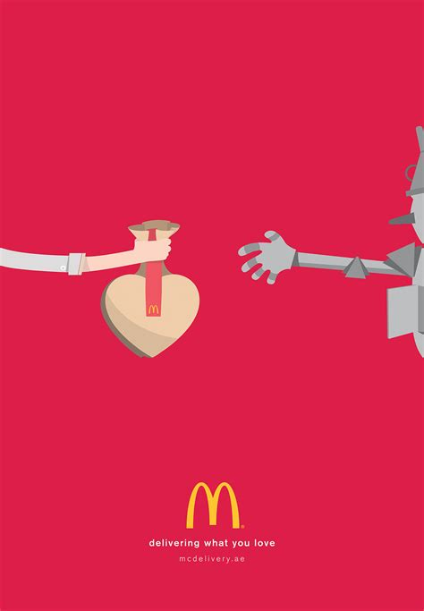clever mcdonalds ads show classic characters