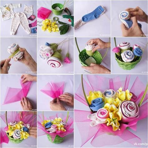 25 best ideas about baby sock bouquet on pinterest baby shower centerpieces baby shower