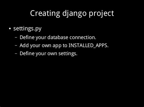 creating new django project python web scraping and content management scrapy and django