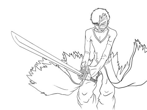 ichigo coloring pages