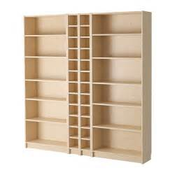 Ikea Birch Bookcase Billy Gnedby Bookcase Birch Veneer 200x202x28 Cm Ikea