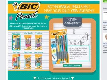 Instant Win Sweepstakes 2014 - bic pencil instant win sweepstakes sweepstakes fanatics
