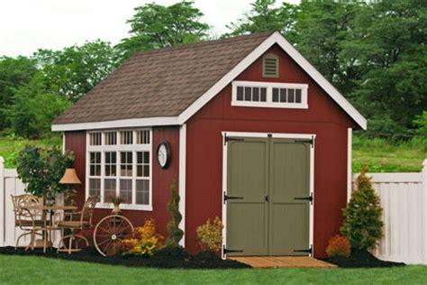 amish built    storage shed kits