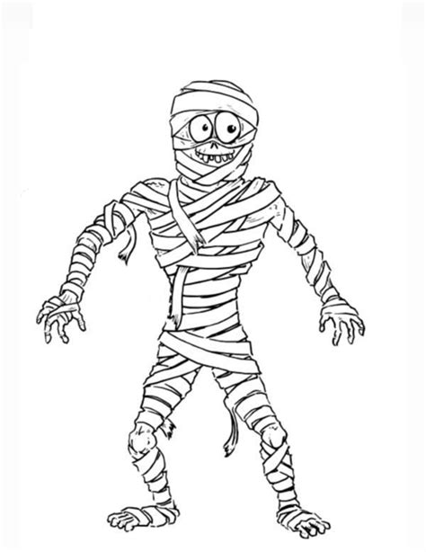 Mummy Coloring Pages by Mummy Coloring Page Coloring Pages For Free