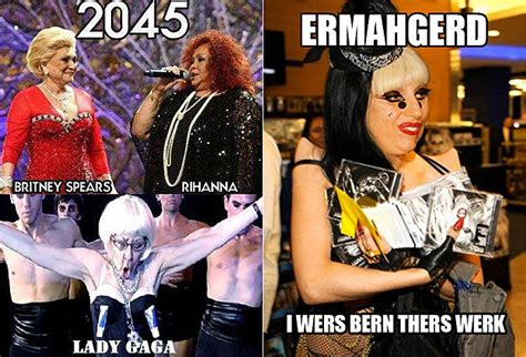 Lady Gaga Memes - lady gaga memes post these on your facebook