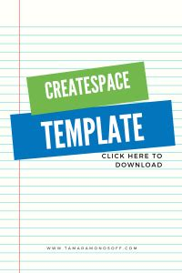 pre formatted createspace template for printed books