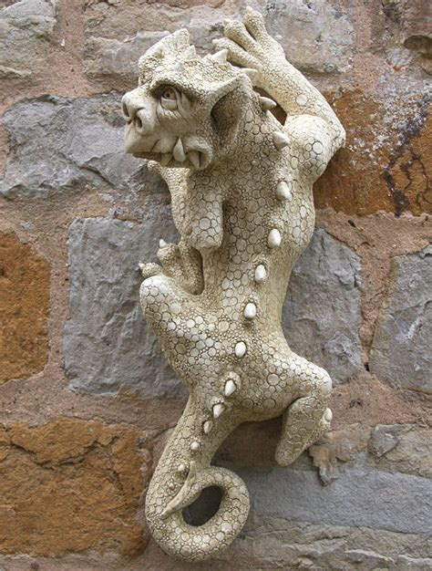 garden wall ornaments uk gargoyle wall ornament nim garden ornaments find