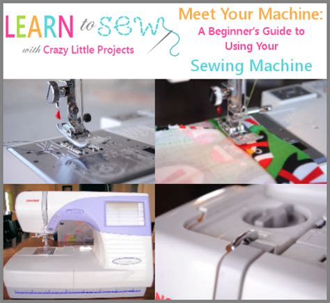 meet your sewing machine guide for beginners