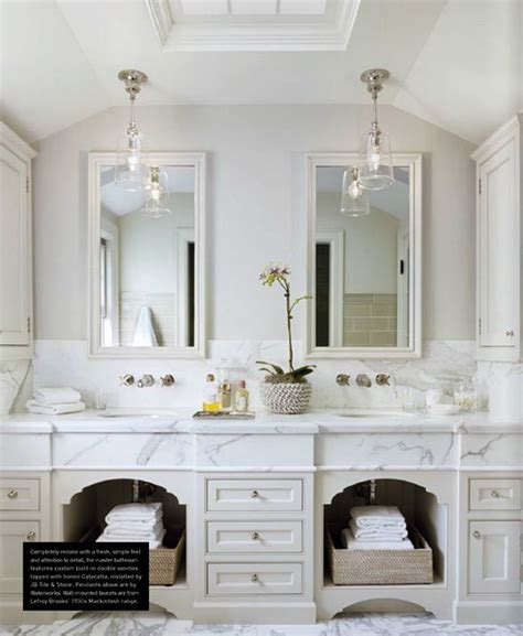 french country bathroom design collage marble