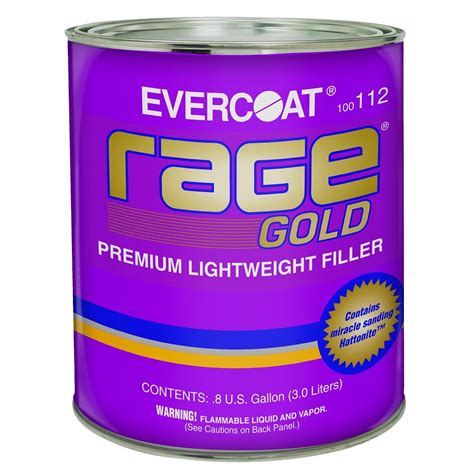 Rage Gold Evercoat 112 Rage Gold Filler Gallon