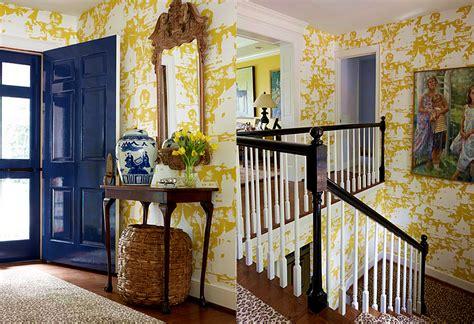 Wallpaper Home Interior Quadrille Paradise Background Wallpaper
