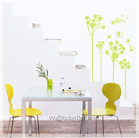 flower wall stickers flower wall decals wallstickerdeal
