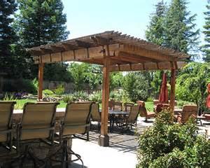 blueprints backyard trellis designs