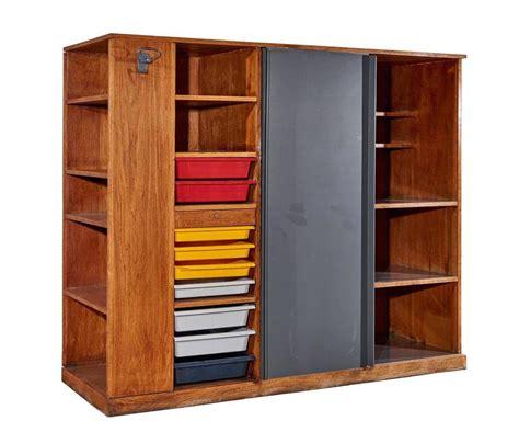 Wardrobe Room Divider Quot Maison Du Br 233 Sil Quot Wardrobe Room Divider By Le Corbusier For Sale At 1stdibs
