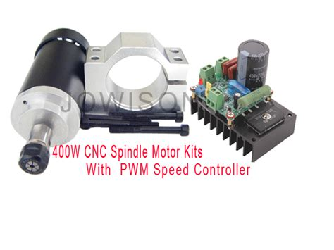 400w Spindle Motor Controller Pwm Dc Speed Controll 24 Limited 400w cnc spindle motor kits pwm speed controller with mount bracket ebay
