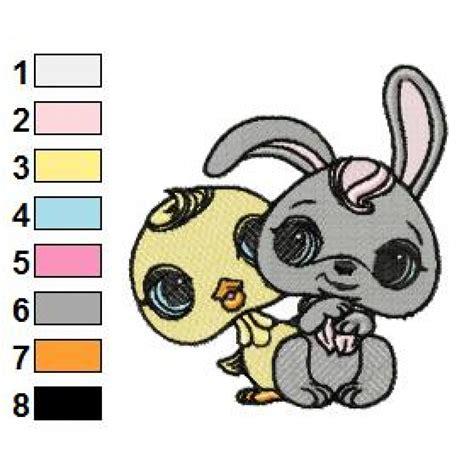 littlest pet shop 01 embroidery design littlest pet shop 02 embroidery design