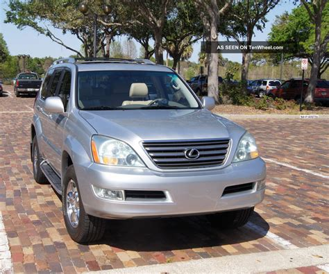 lexus truck 2007 2007 lexus gx 470 sport suv awd automatic no accident