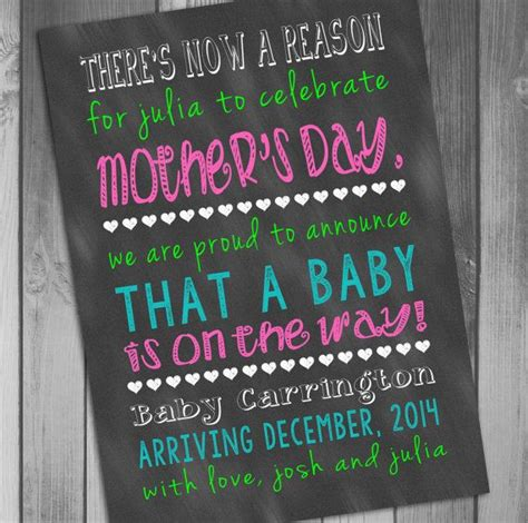 mothers day pregnancy announcement pregnancy announcement mothers day announcement