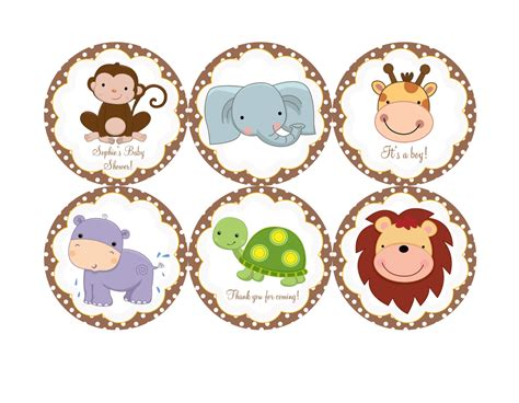 Baby Animal Clipart Baby Shower by Safari Cliparts